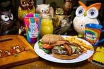 Jalapeno Owl Burger