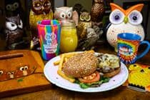 Shrooming Owl Burger